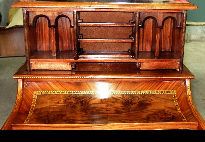 Desk, Bureau and Office Furniture - Product Images - Superb Quality Victorian Style Piano Top Davenport With A Rising